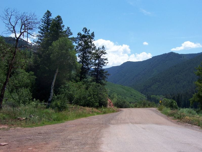 Woody Creek Colorado National Forest