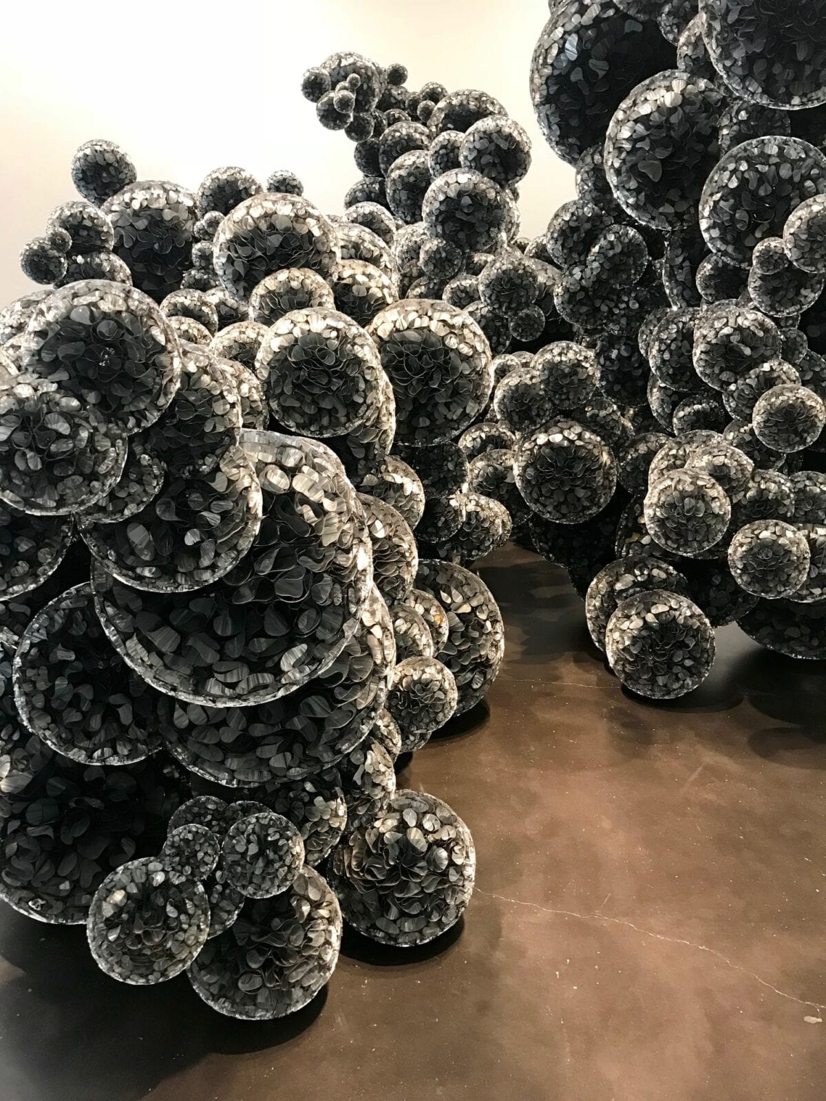 image of scultpure at the Museum of Contemporary Art Denver