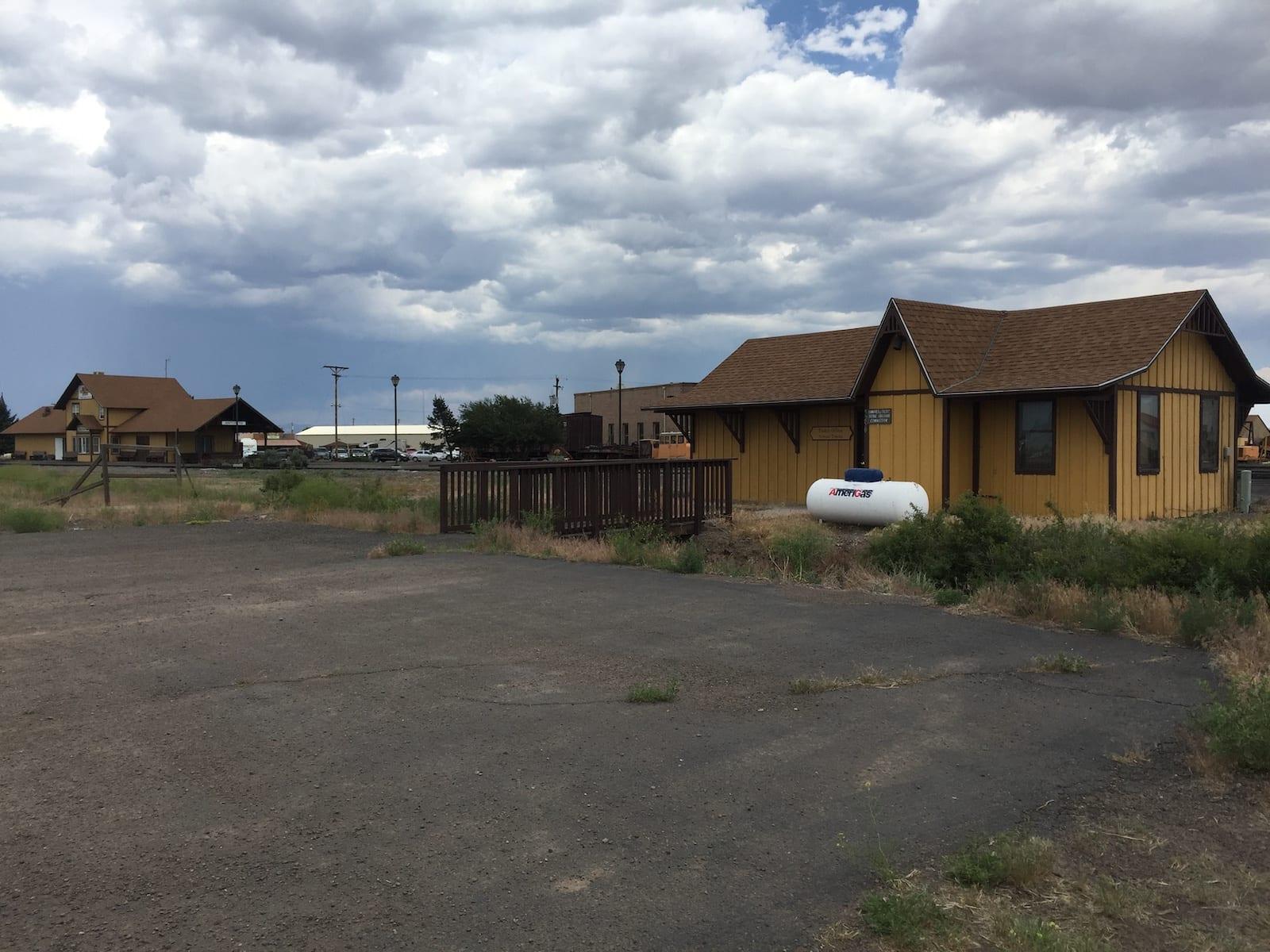 Antonito Colorado Cumbres and Toltec Scenic Railroad Ticket Office