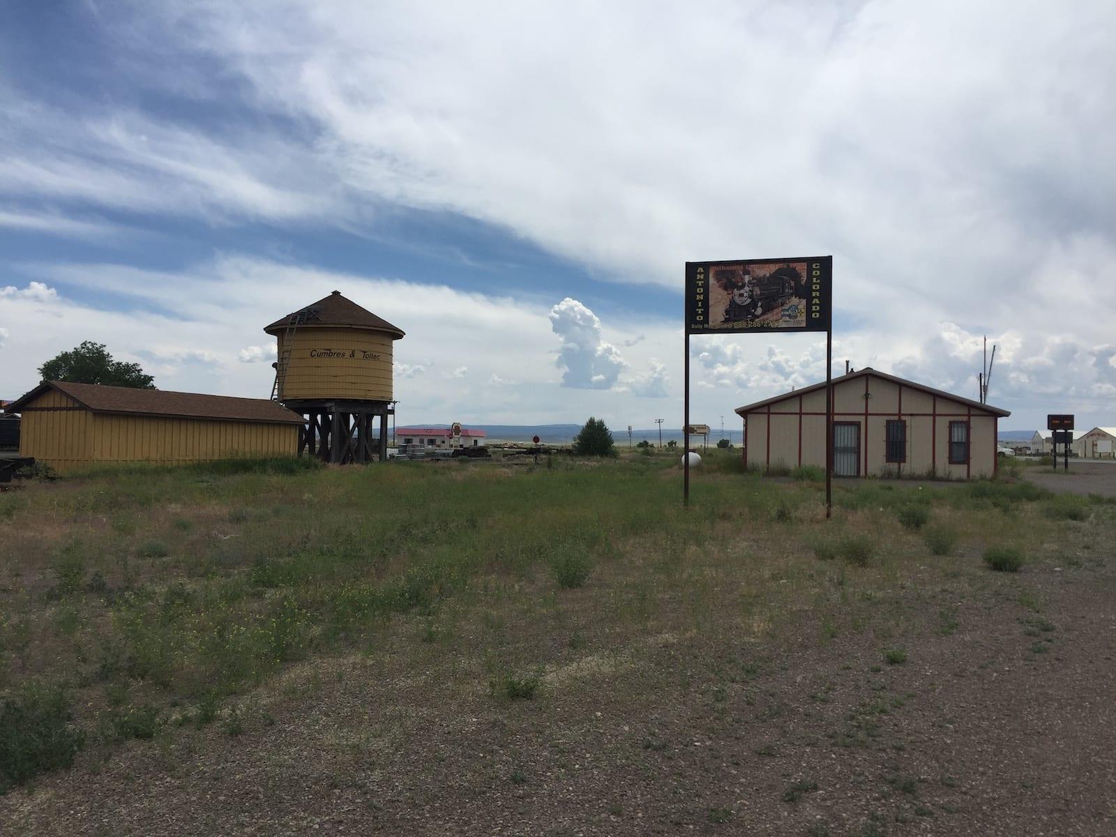 Antonito Colorado Cumbres and Toltec Scenic Railroad Water Tower