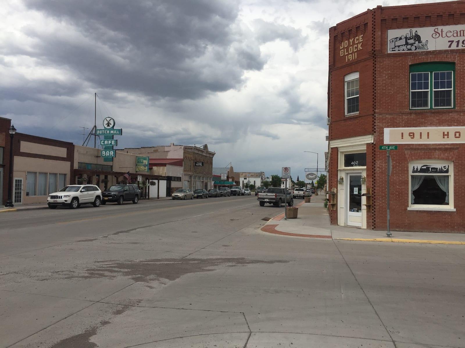 Antonito Colorado Downtown