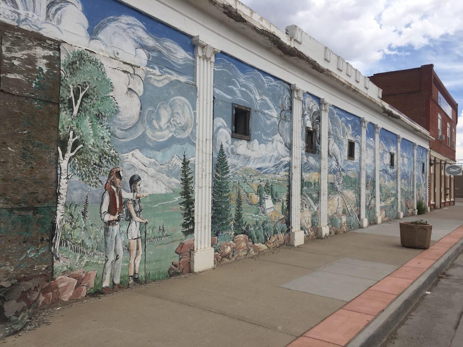 Antonito Colorado Mural
