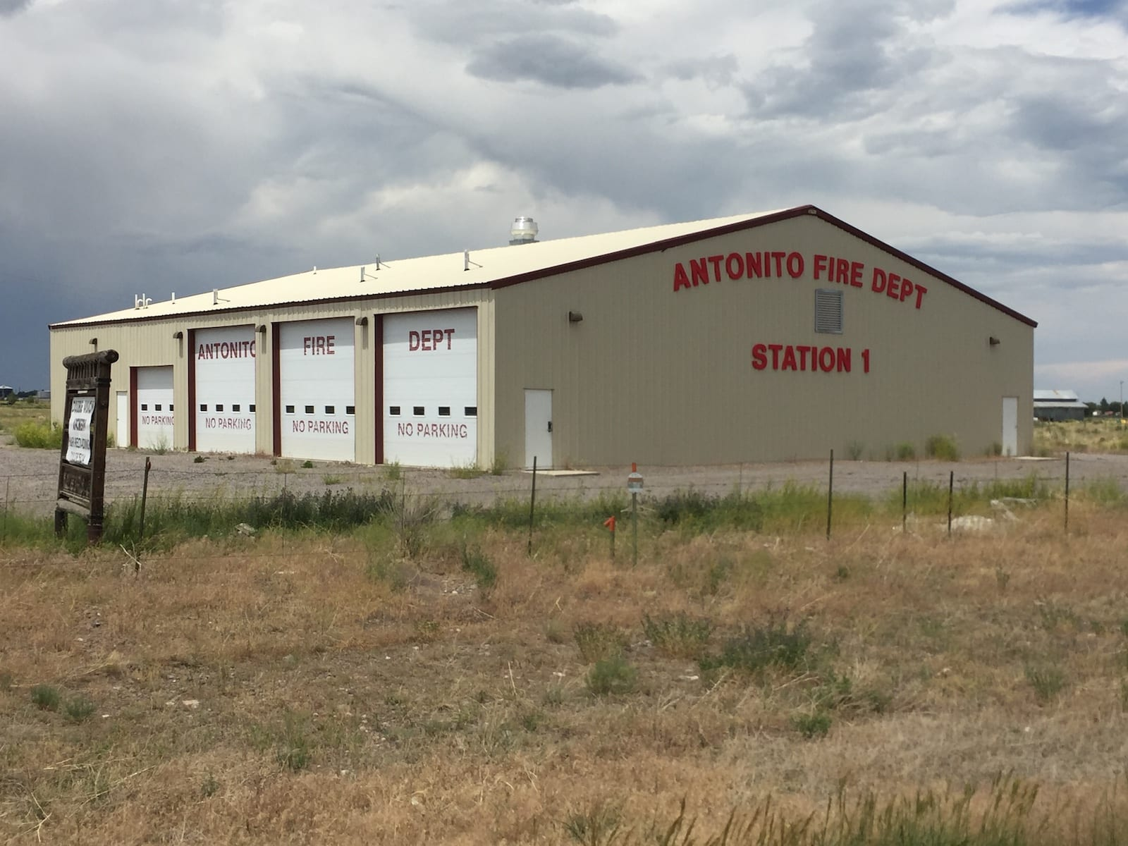 Antonito Fire Department Station #1