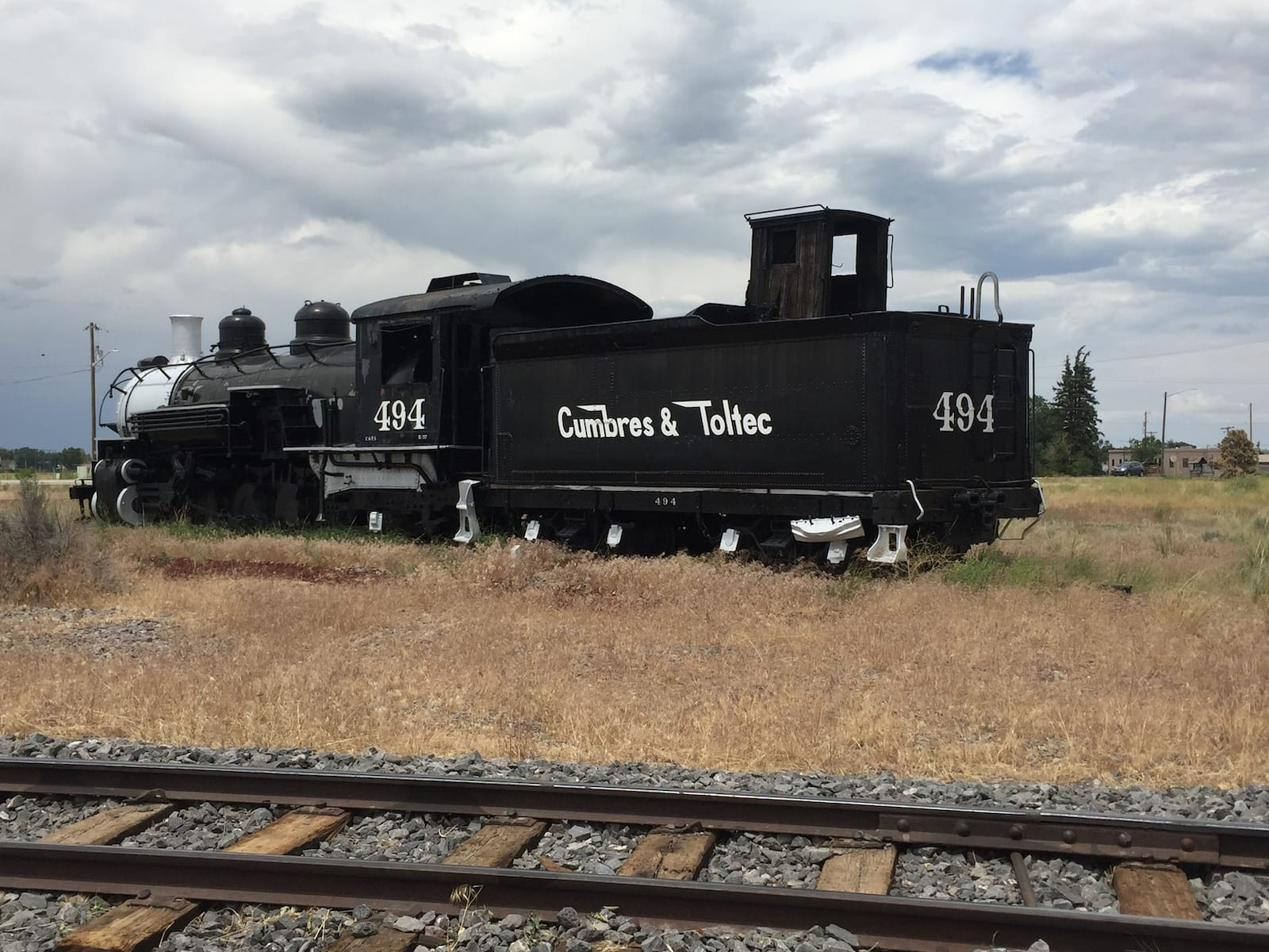 Antonito Colorado Cumbres and Toltec Scenic Railroad Locomotive