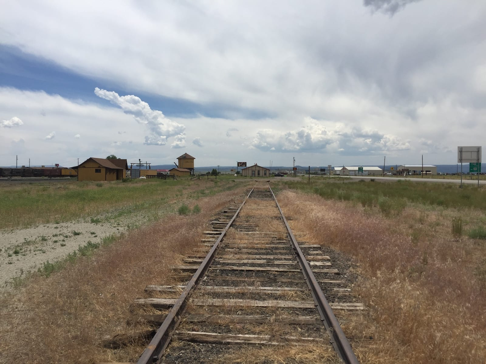 Antonito Colorado Train Tracks