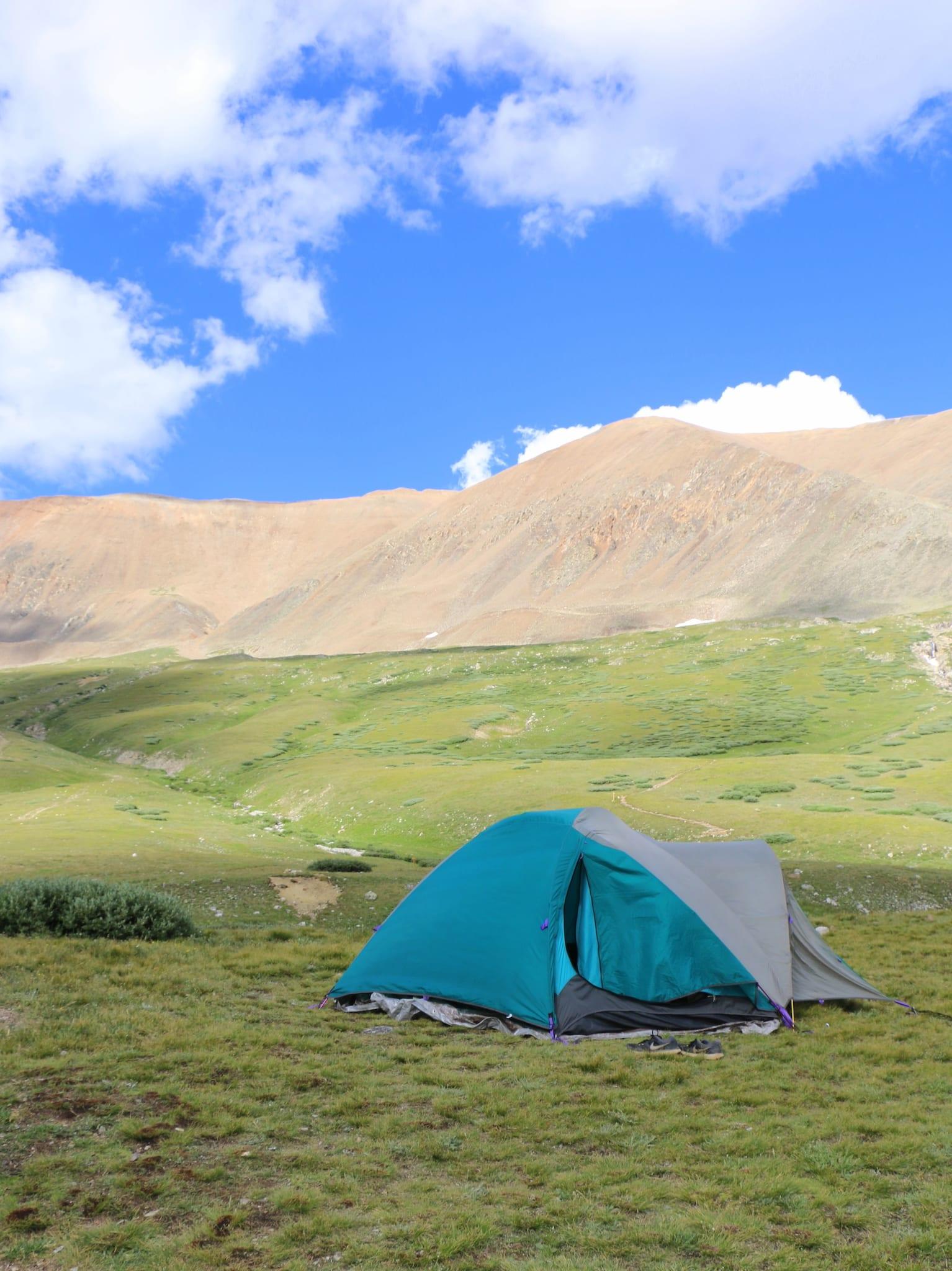 Tent Camping at Kite Lake Alma CO