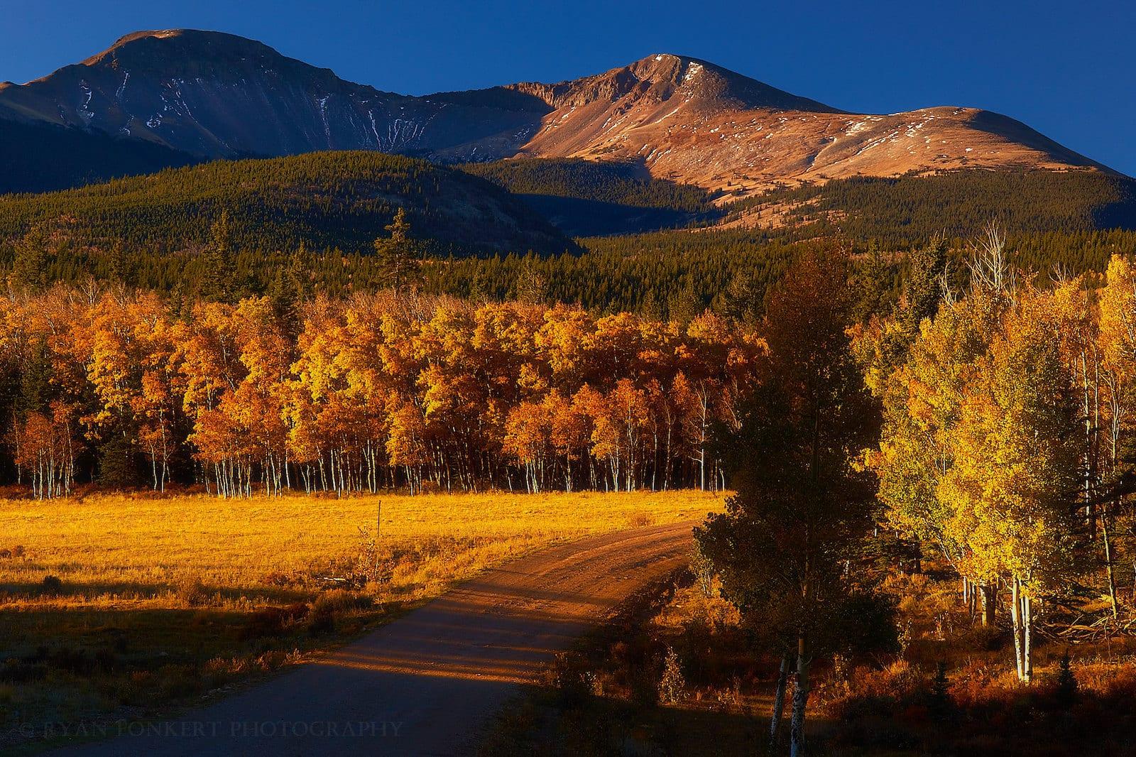 Weston Pass Buffalo Peaks Sunrise Fairplay CO