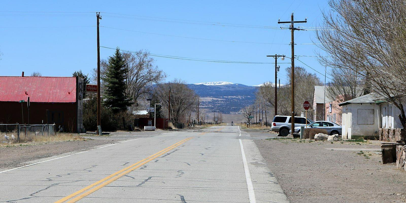 Capulin Colorado State Highway 15