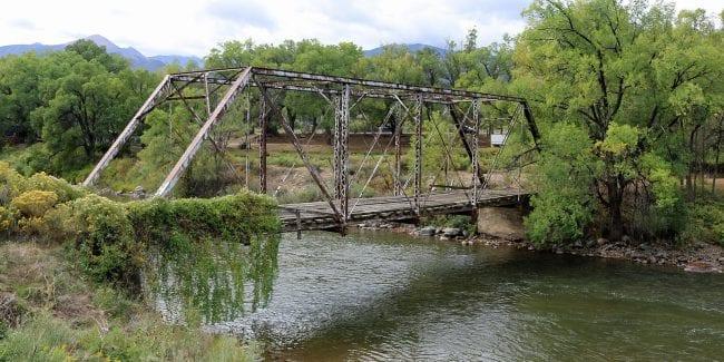 Coaldale Colorado Abandoned Bridge