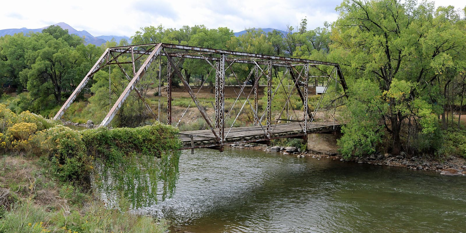 Coaldale Colorado Abandoned Bridge