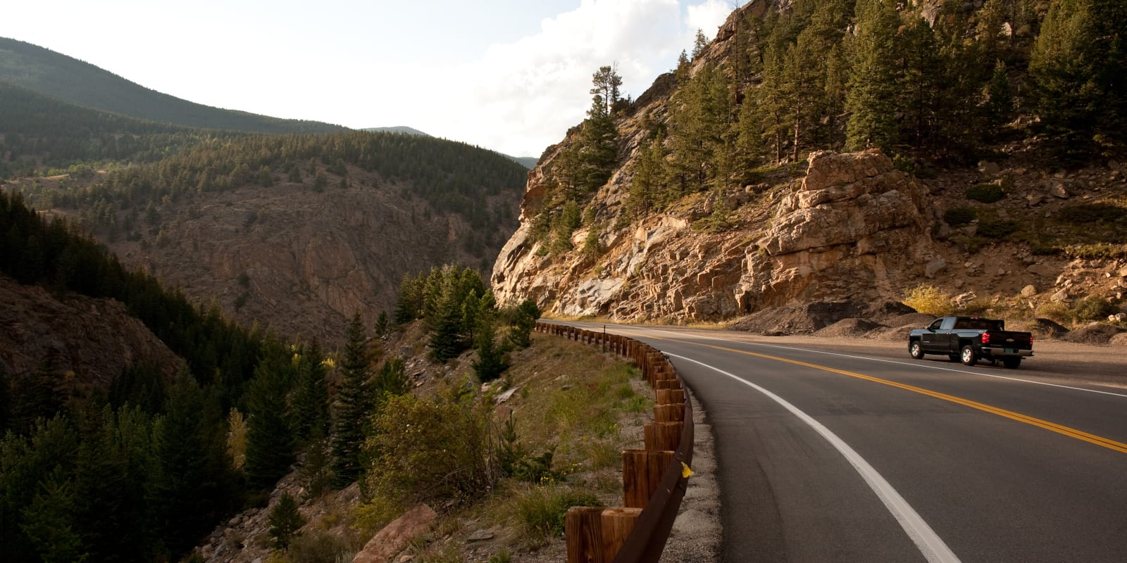 Colorado Driving Laws Mountain Road