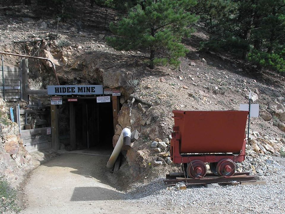 Colorado Mining History Hidee Gold Mine Central City