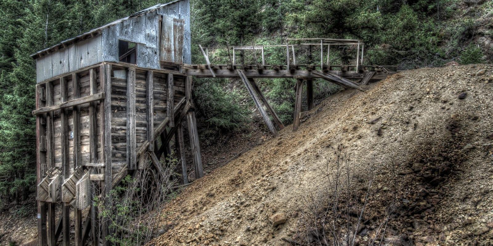 Colorado Mining History Gold Rush Relic