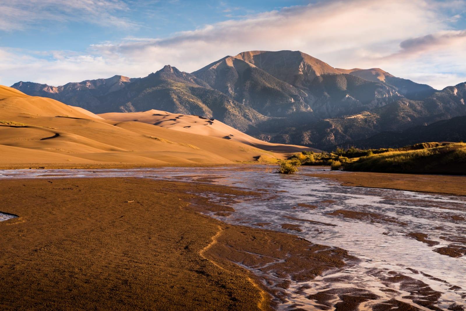 Mountain Living Medano Creek Sand Dunes