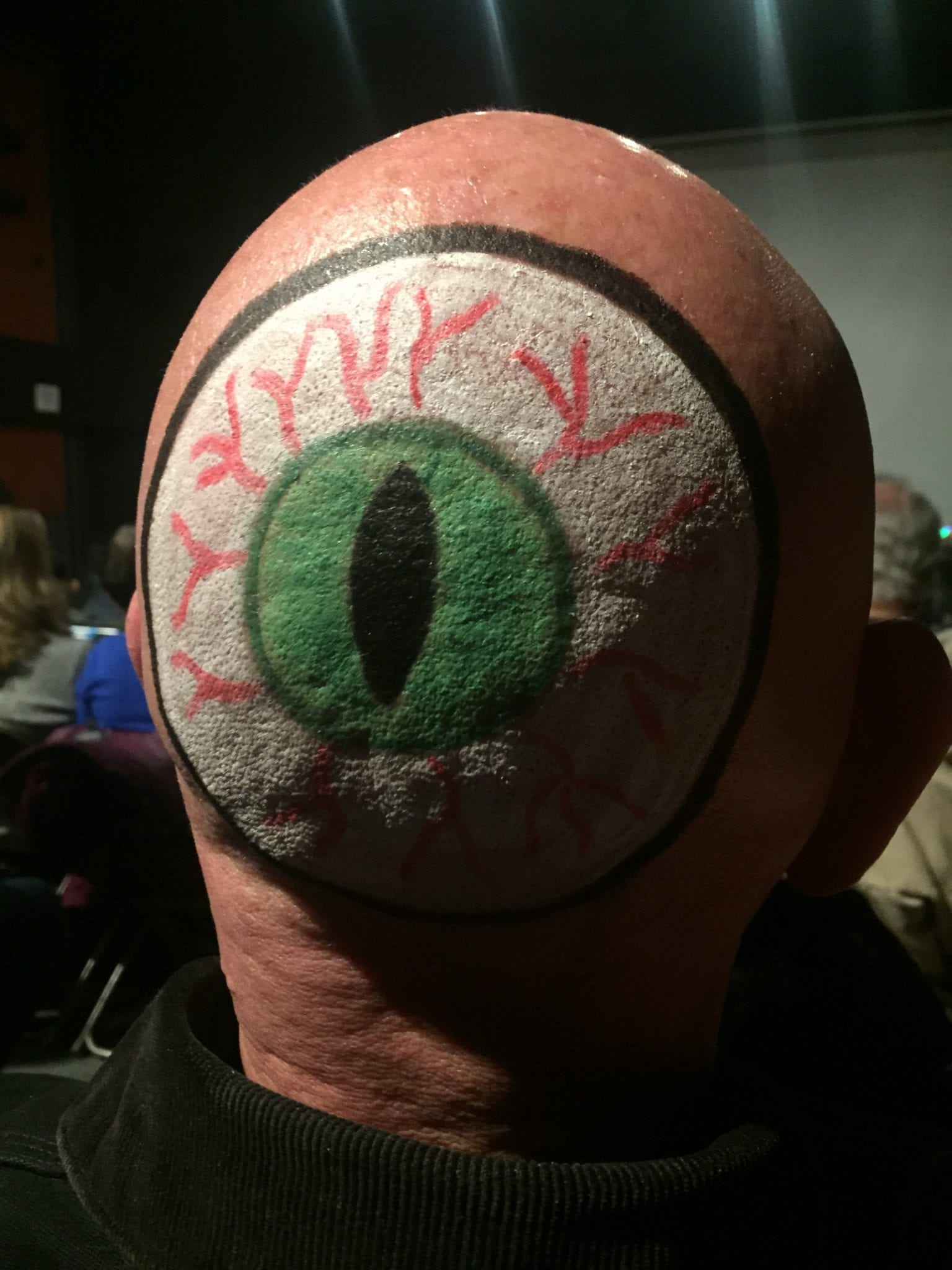 Mountain Living Person Eye On Back of Head