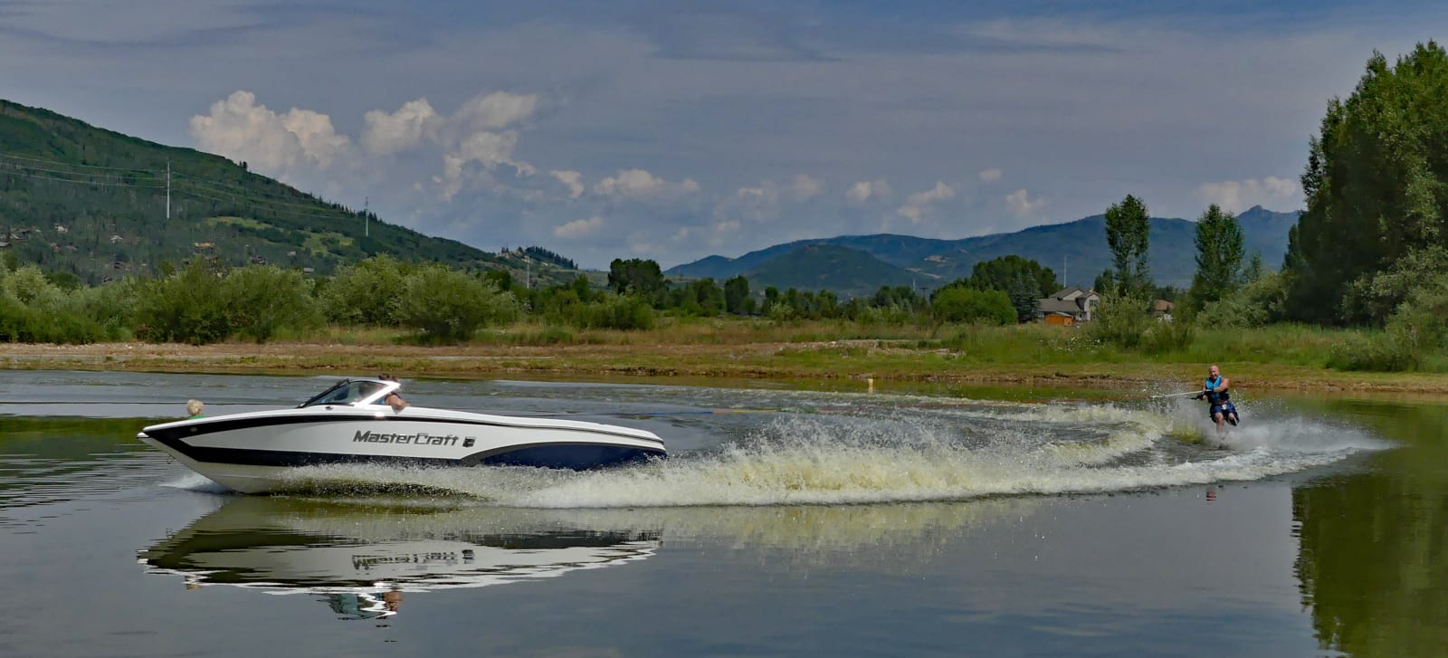 Colorado Rocky Mountain Living Water Skiing Steamboat Springs