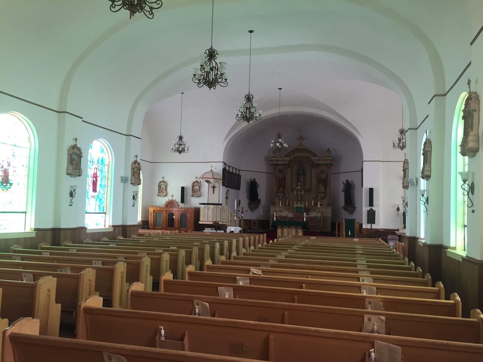 Conejos Colorado Our Lady of Guadalupe Parish Interior