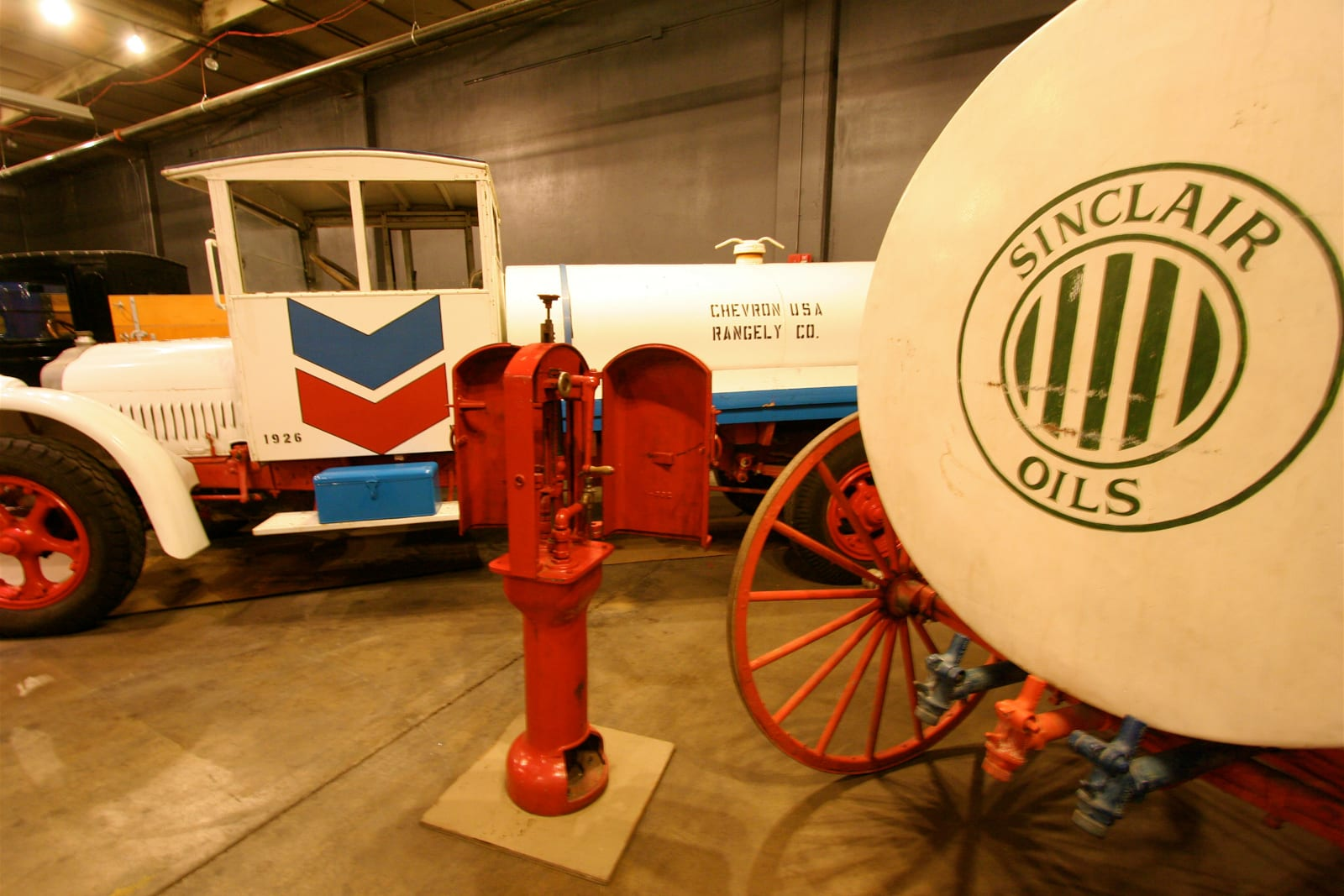 Forney Museum of Transportation Chevron Gasoline Truck