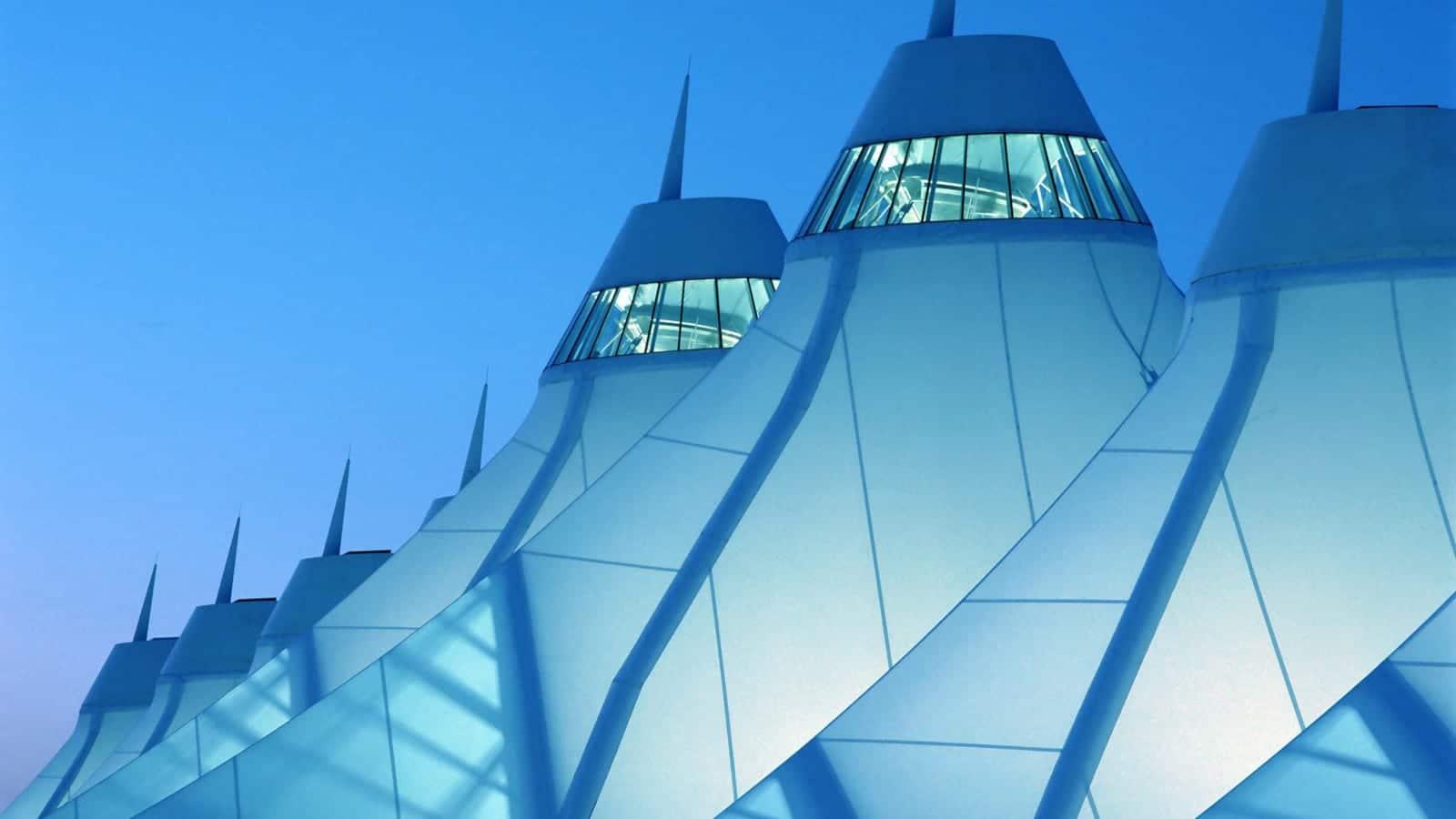 Colorado Commercial Airports Denver International Airport Peaks