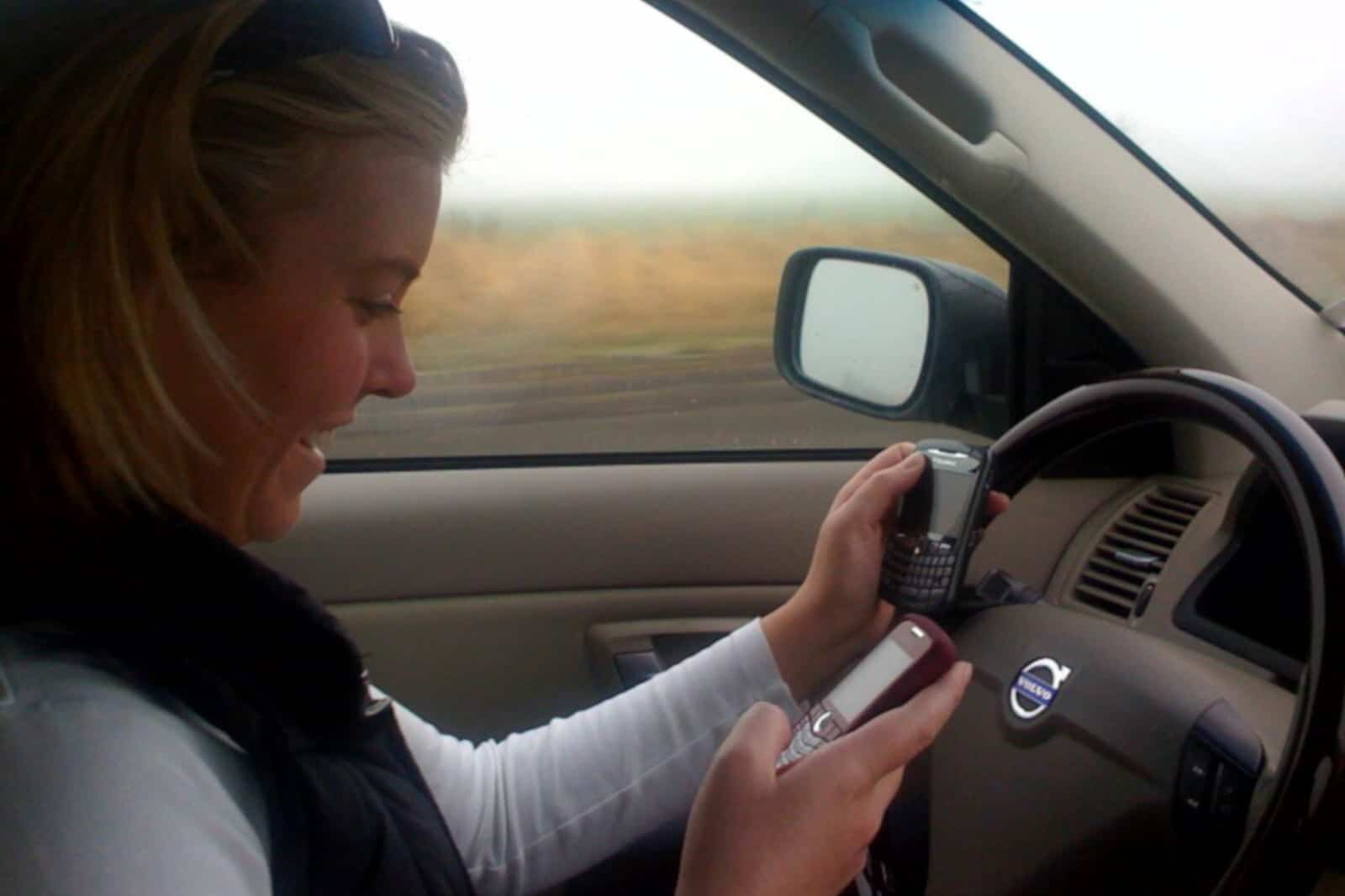 Distracted Driving Texting Driver Law