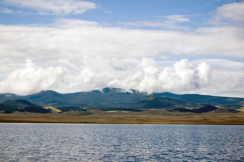 Eleven Mile Reservoir Lake George CO Summer