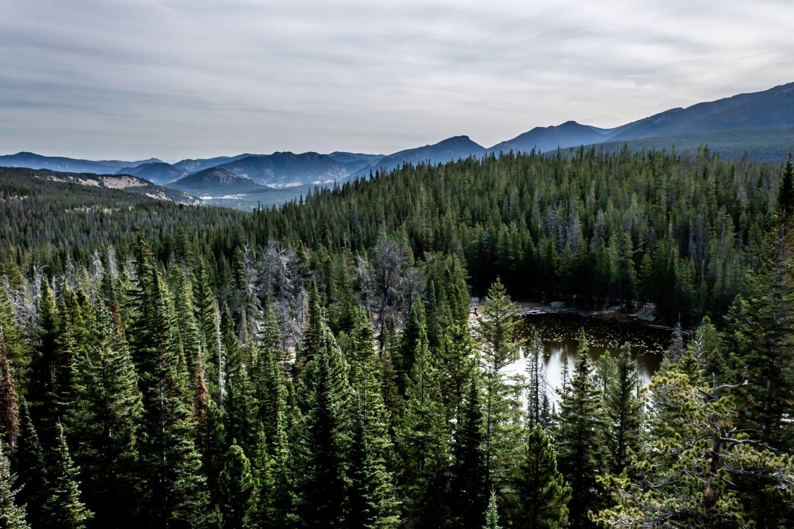 Estes Park Day Hike Nymph Lake