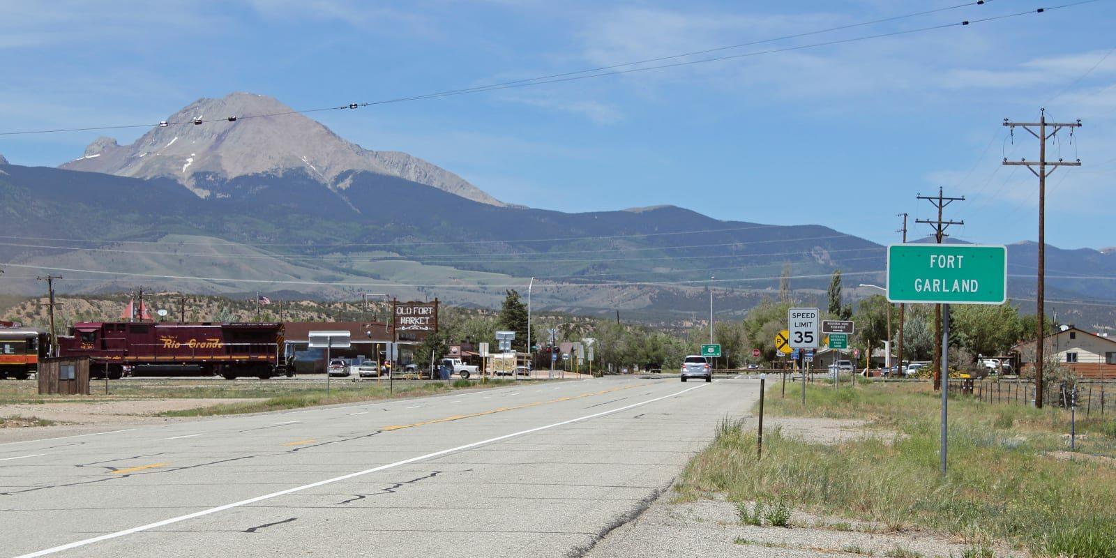Fort Garland Colorado Mount Lindsey