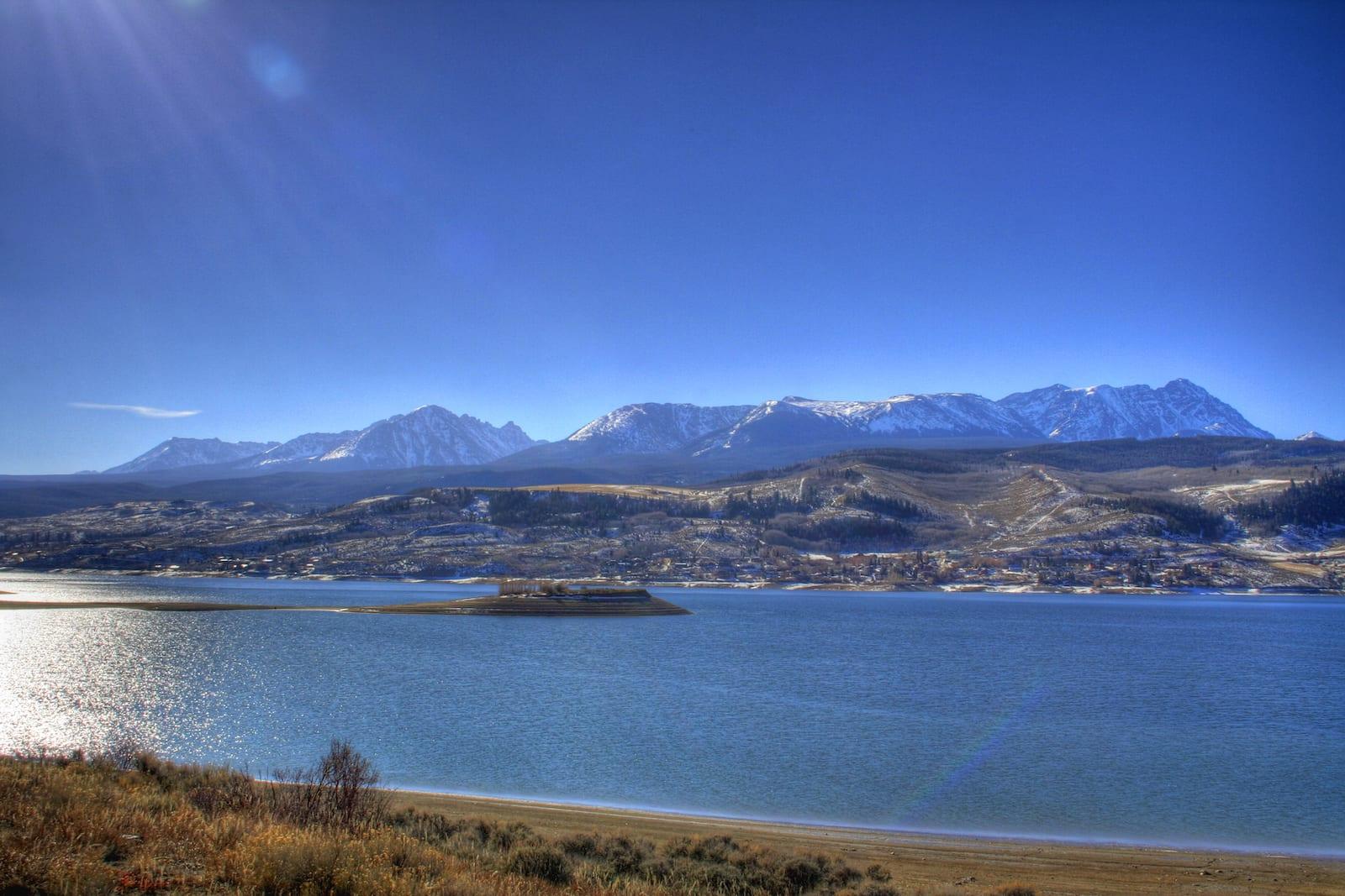 Green Mountain Reservoir Colorado Sunshine in November