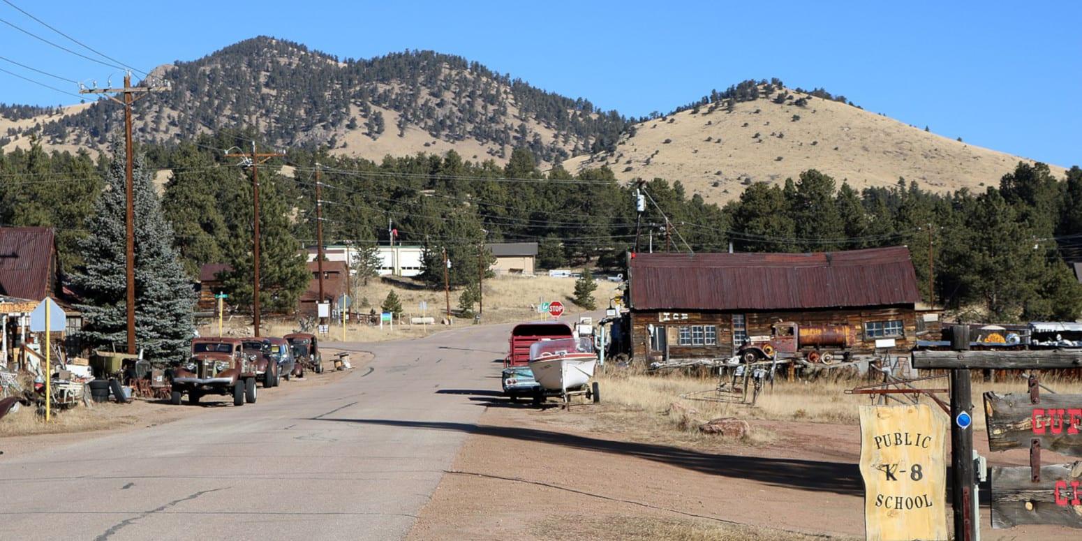 Guffey Colorado Main Street