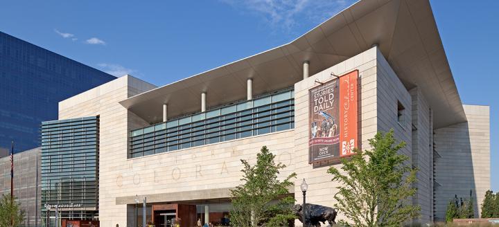 History of Colorado Center Denver Exterior