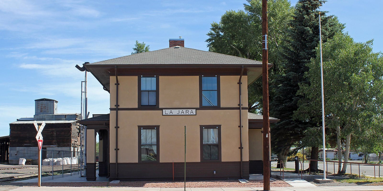 La Jara Colorado Train Depot Town Hall