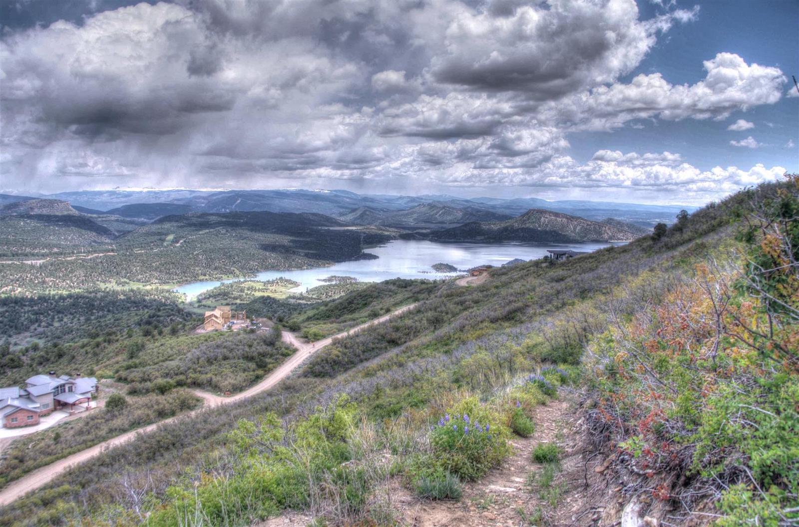 Lake Nighthorse Durango CO Tonemapped