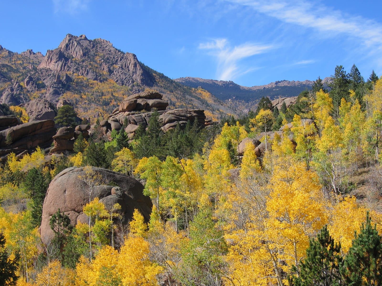 Lost Creek National Wilderness Area Fall Colors