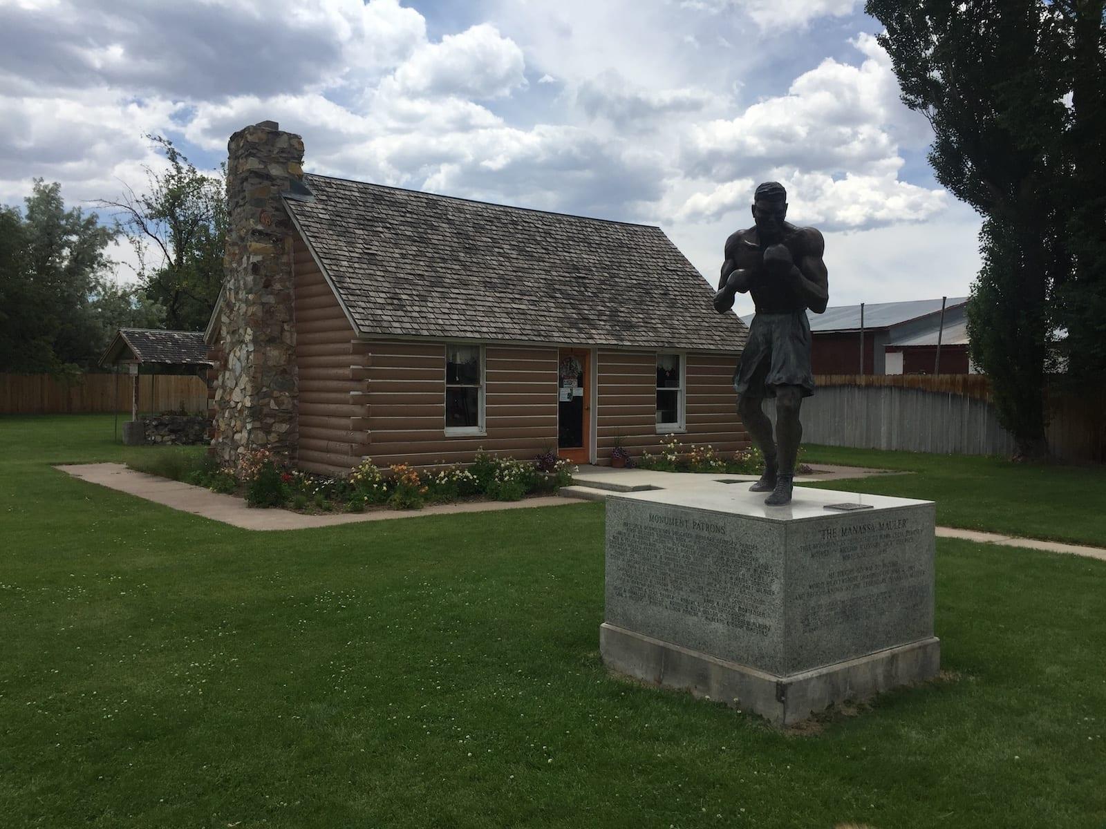 Manassa Colorado Jack Dempsey Statue