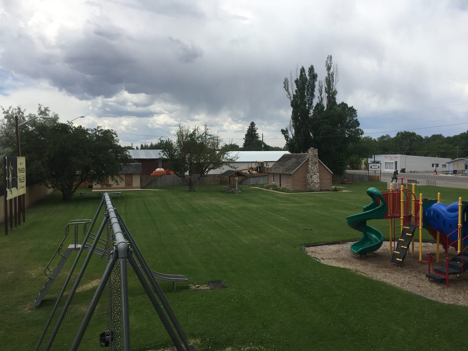 Manassa Colorado Jack Dempsey Park Playground