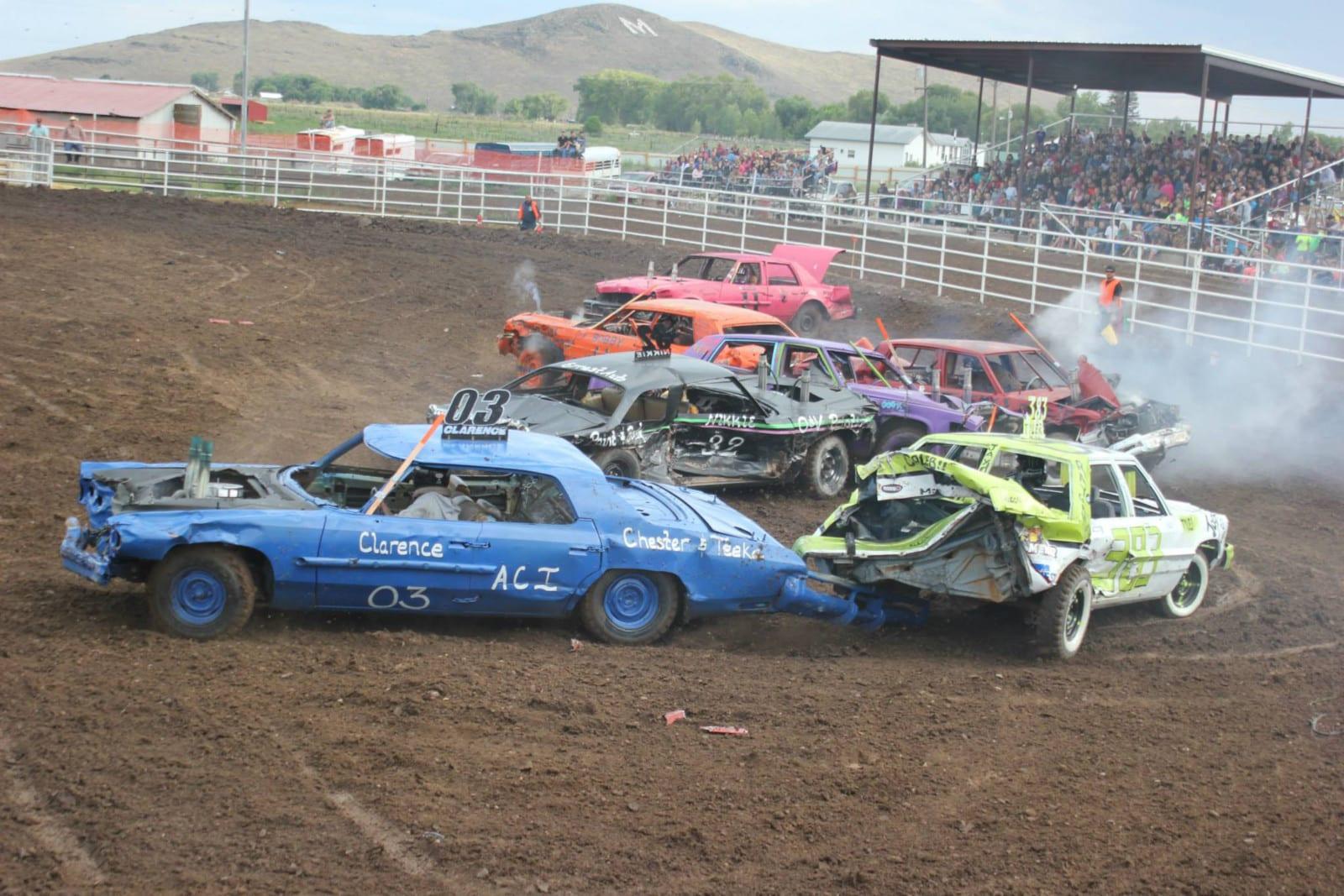 Manassa Pioneer Days Demolition Derby