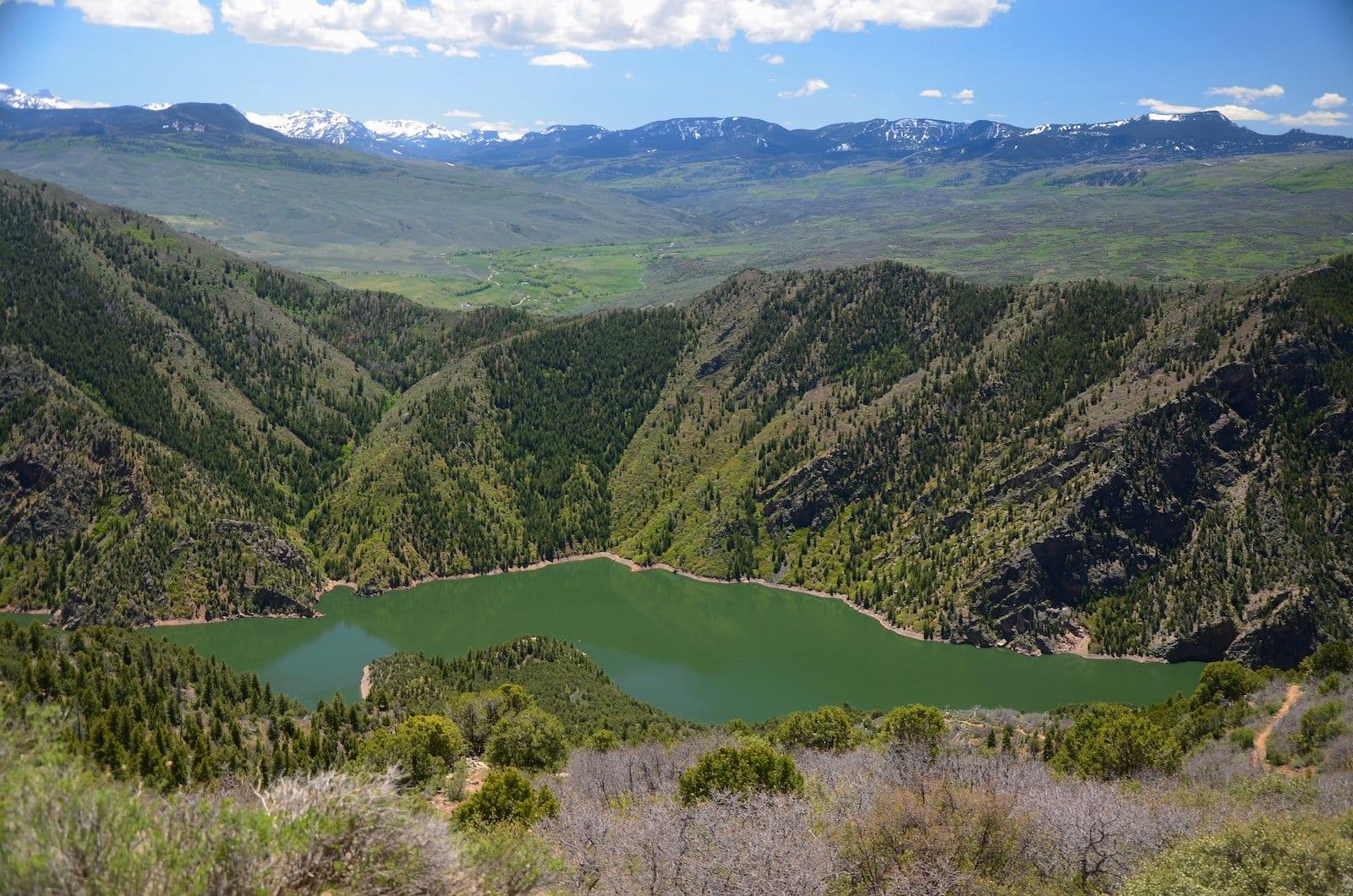 Morrow Point Reservoir Curecanti National Recreation Area Colorado
