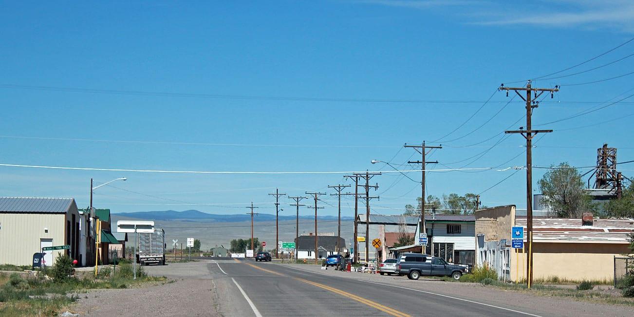 Romeo Colorado Main Street Highway CO 142