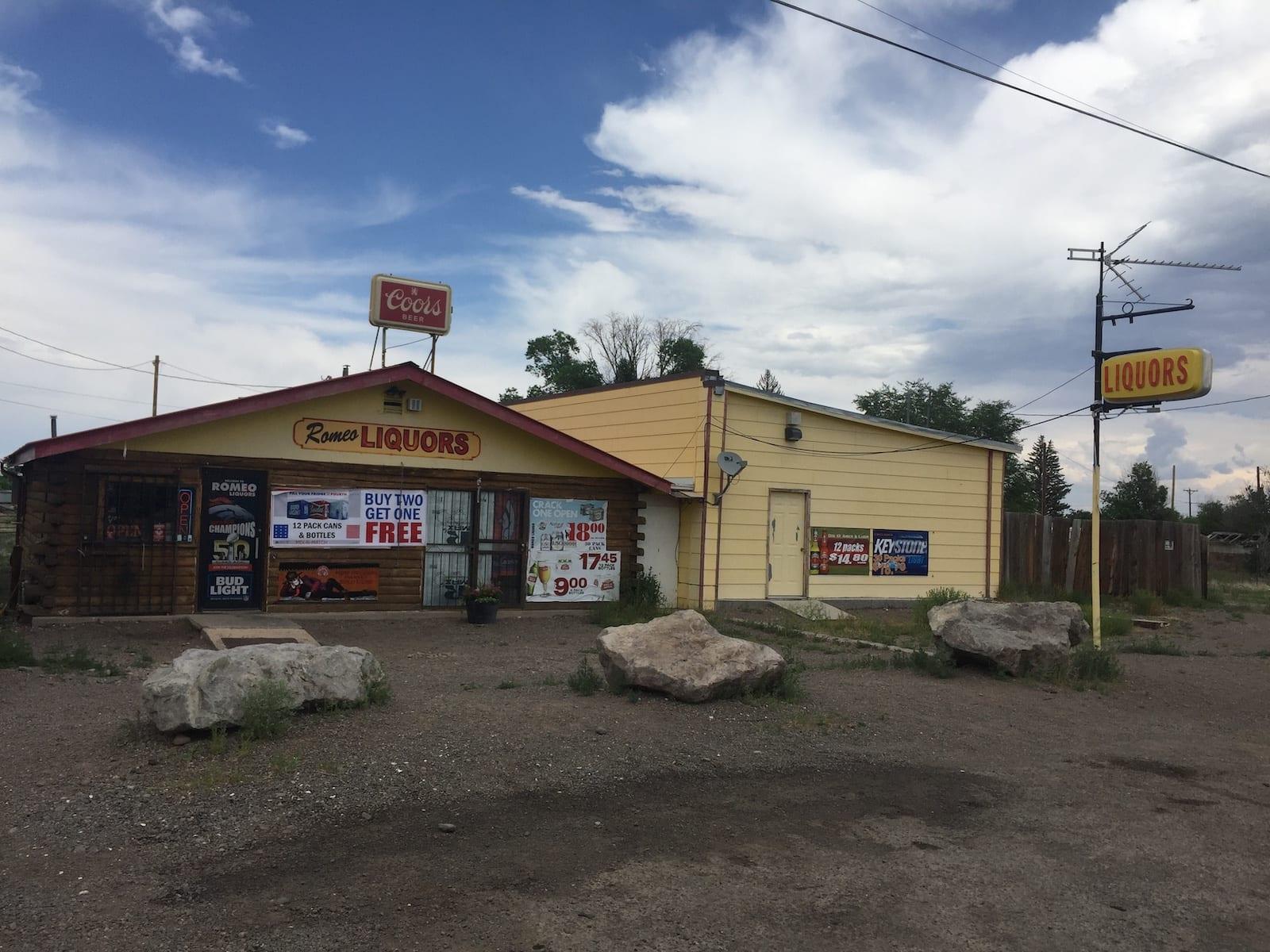 Romeo Colorado Liquor Store