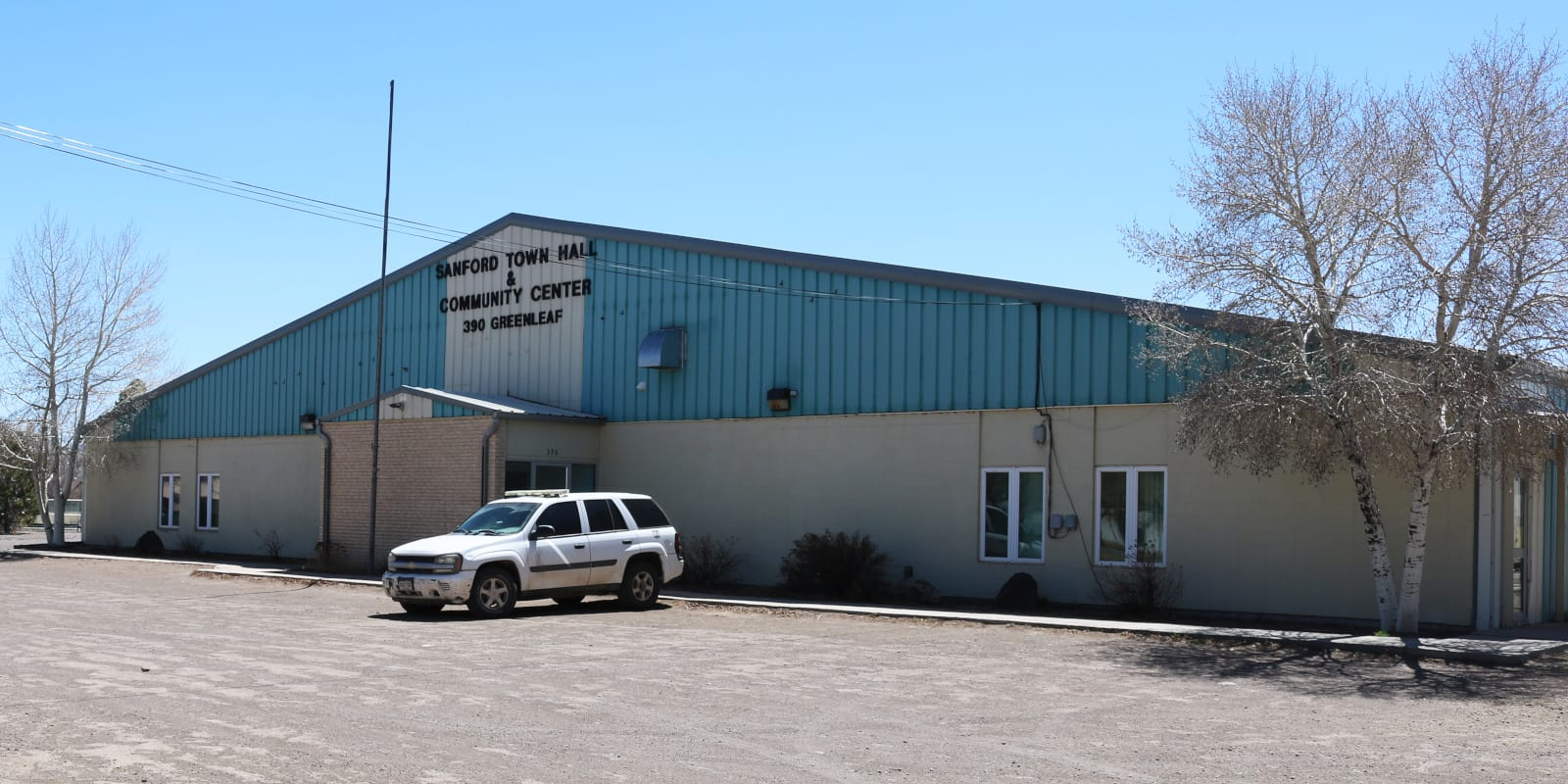 Sanford Colorado Town Hall Community Center