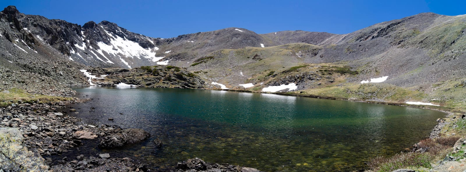Sangre de Cristo Wilderness Stout Lake Colorado