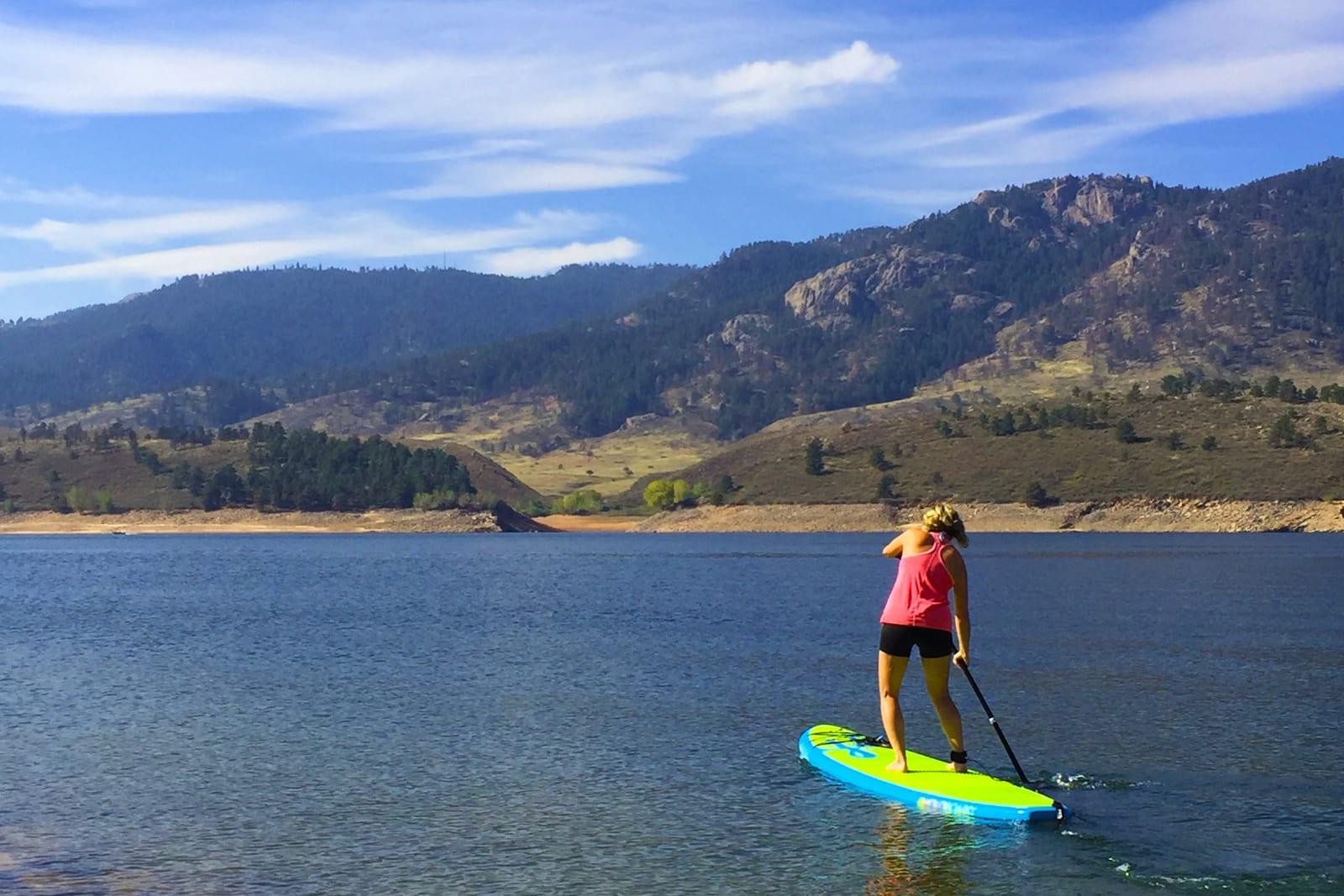 Economy Fort Collins CO Tourism Horsetooth Reservoir