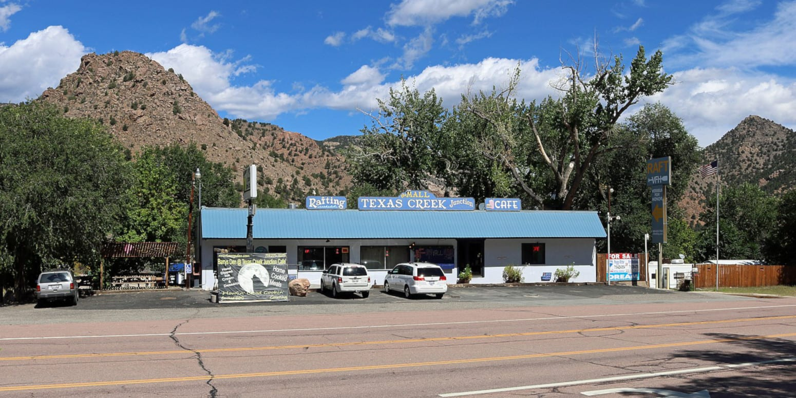 Texas Creek Colorado Highway 50 Cafe and Rafting Outfit