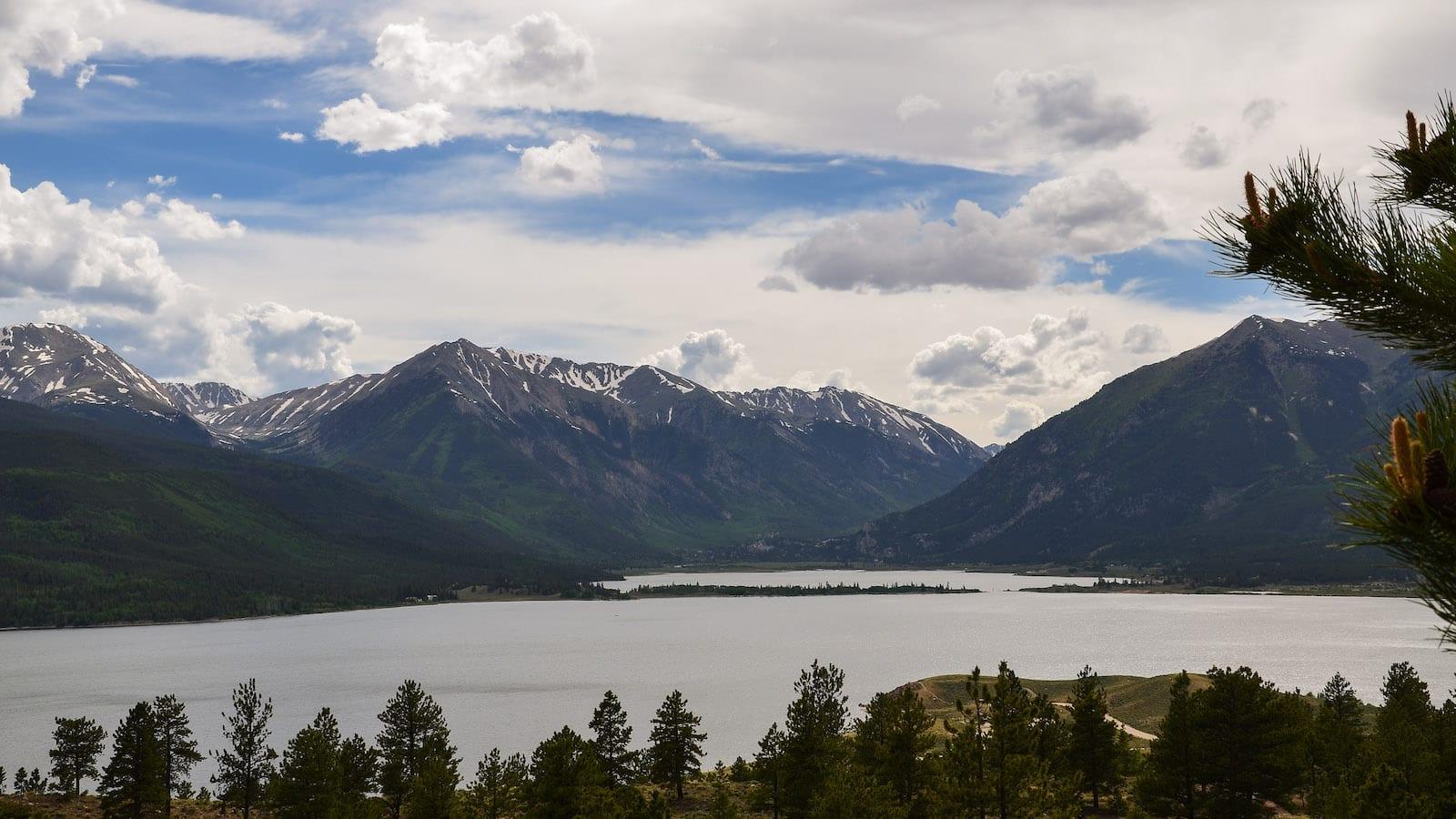 Twin Lakes Reservoir Westward Mountains