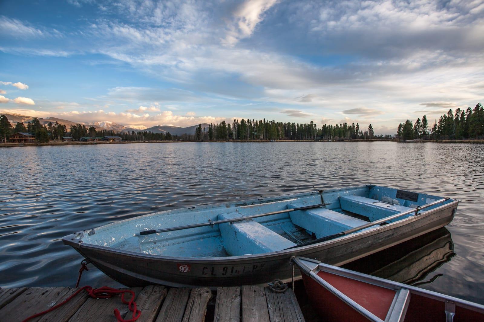 Colorado Watersports Fishing Boats Grand Lake