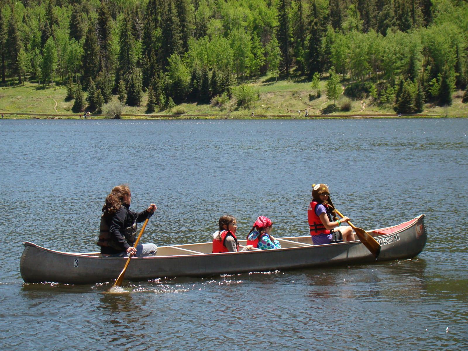 Watersports Colorado Lake Isabel Canoeing
