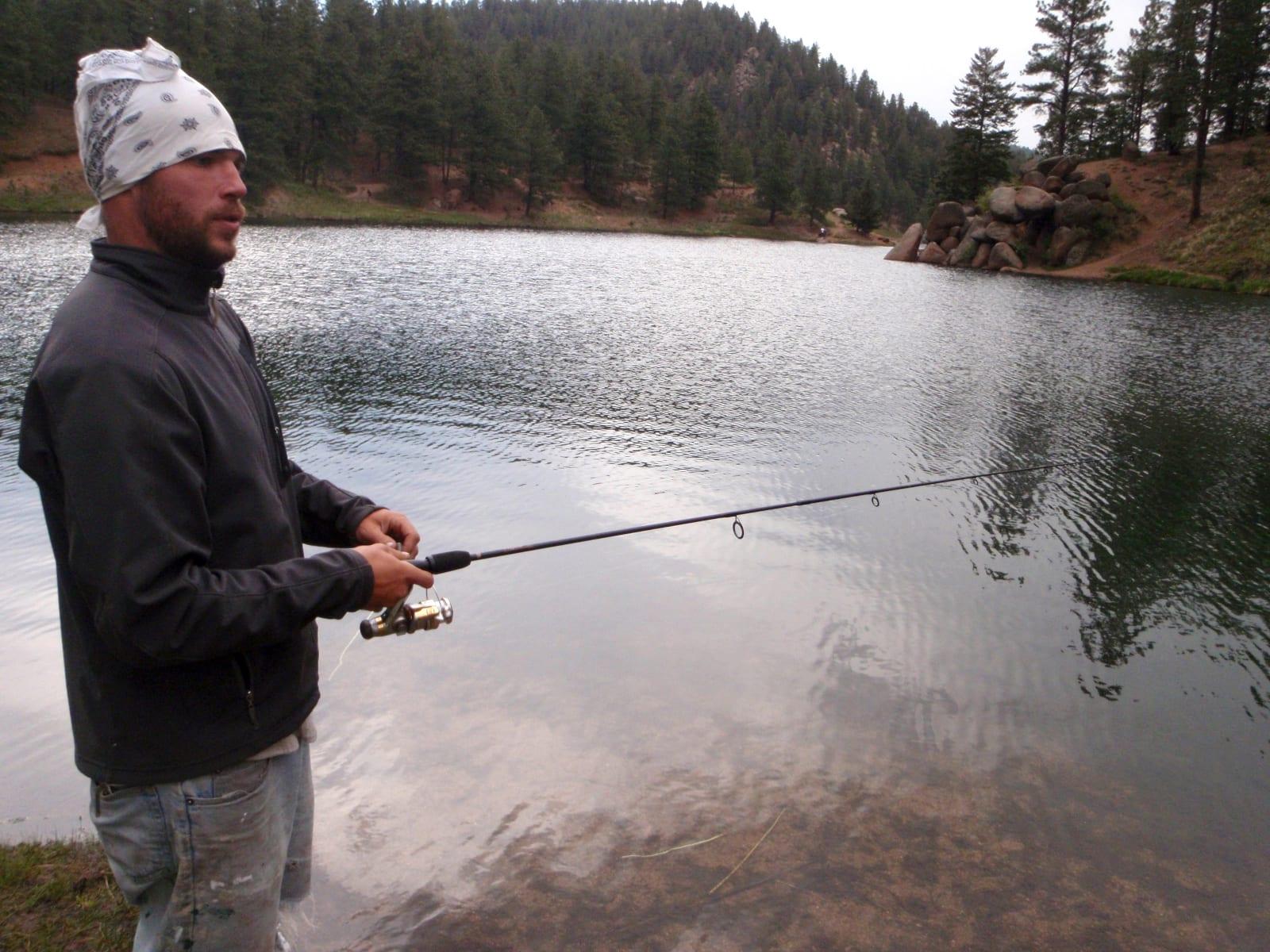 Colorado Watersports Fishing Palmer Lake Reservoir