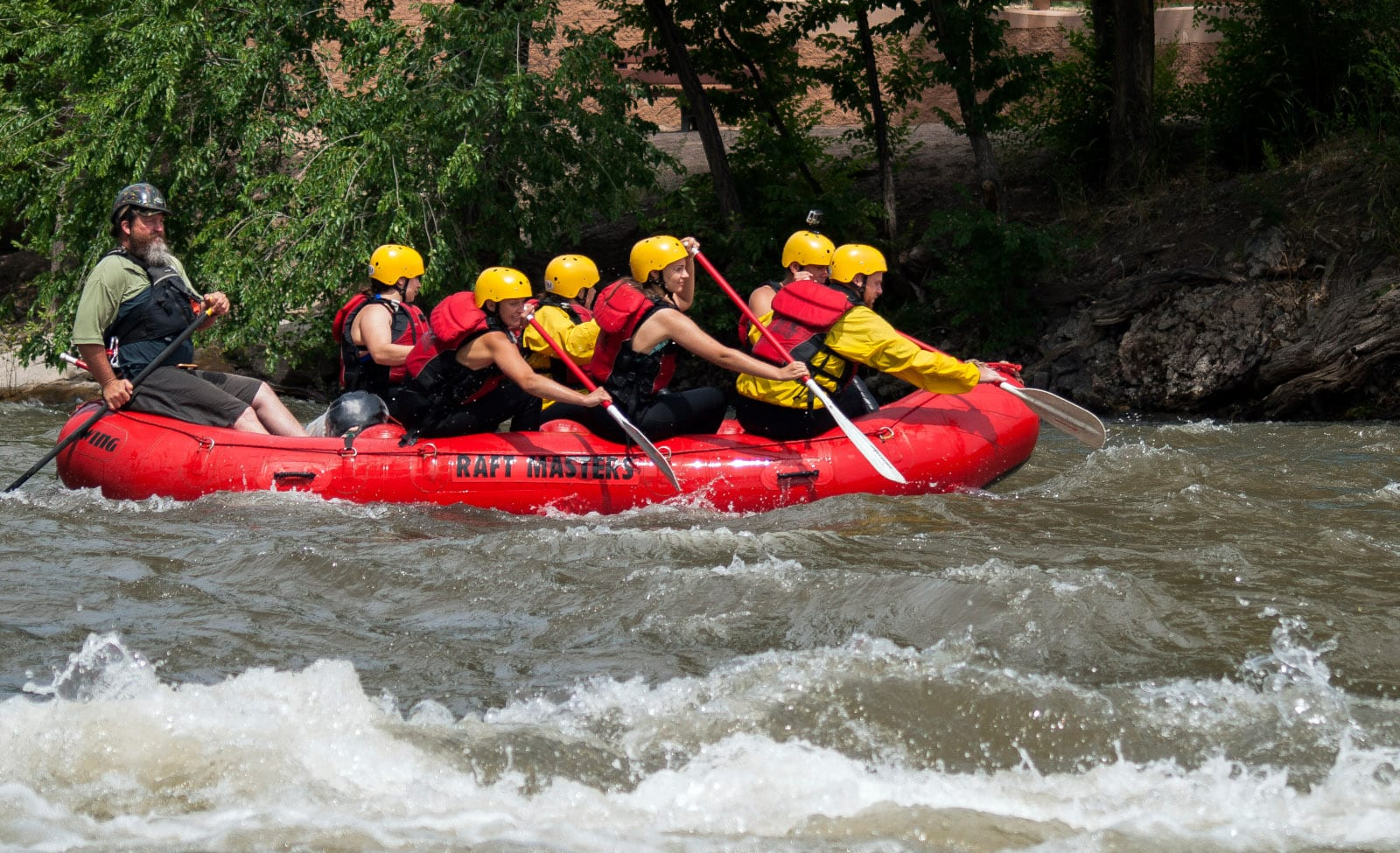 Colorado Watersports Royal Gorge Whitewater Rafting