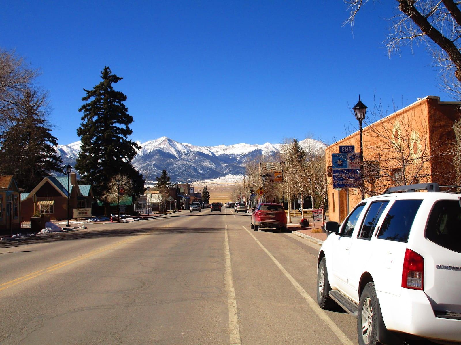 Downtown Westcliffe Colorado
