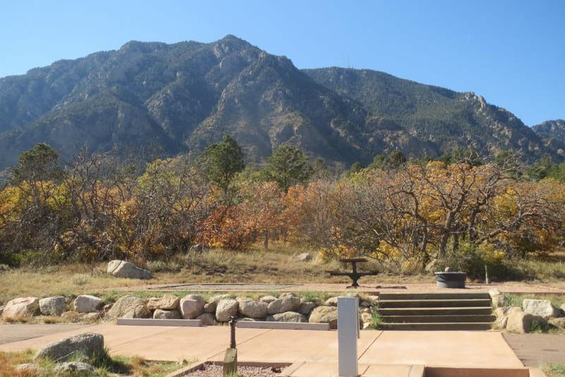 Campgrounds near Colorado Springs Cheyenne Mountain